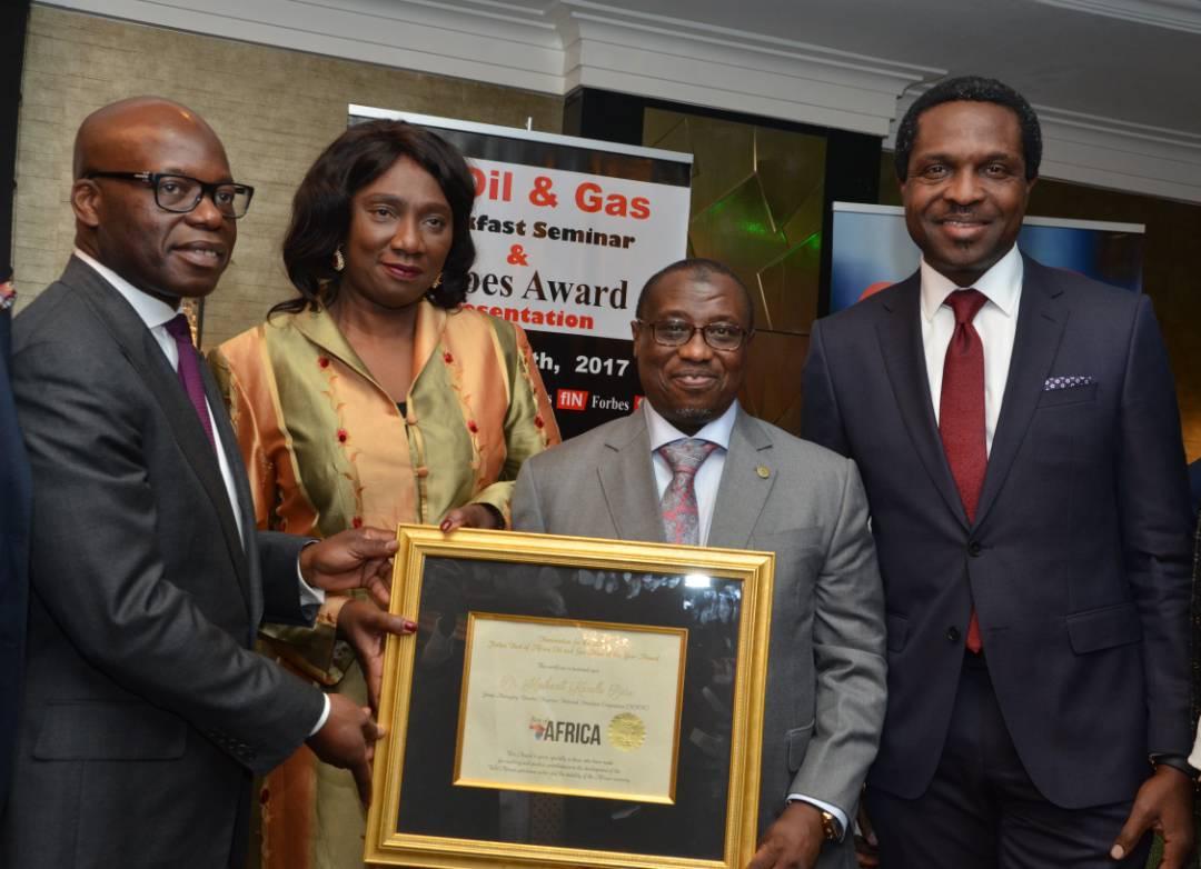 Photos: Forbes, FIN Honours NNPC GMD Maikanti Baru