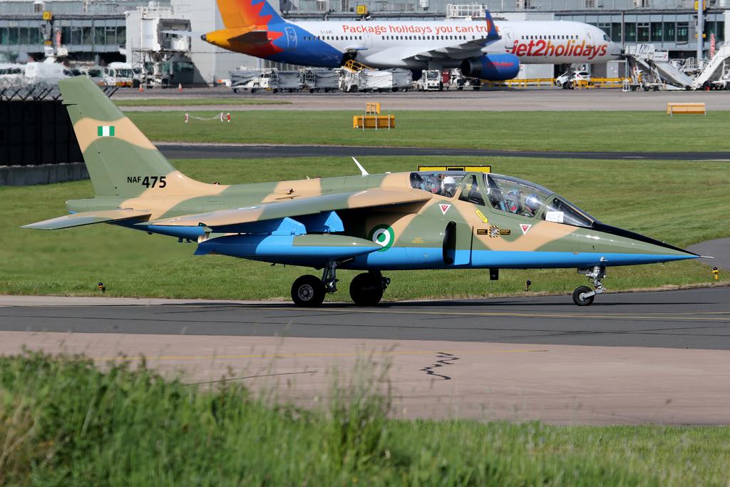 Nigeria Air Force Unleash Massive Attack on Terrorists in North-East