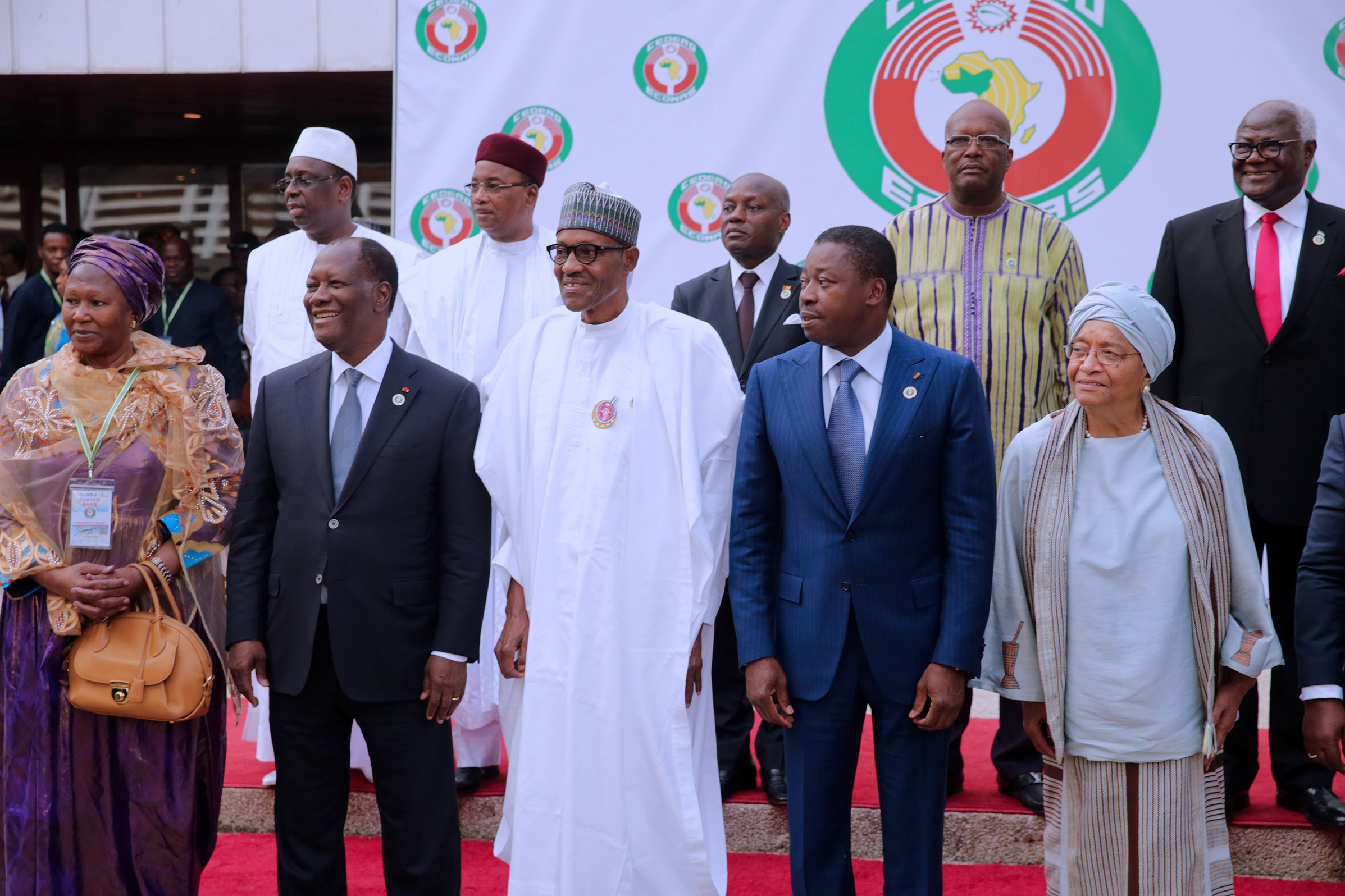 The Day in Pictures: Buhari at the 52nd ECOWAS Summit