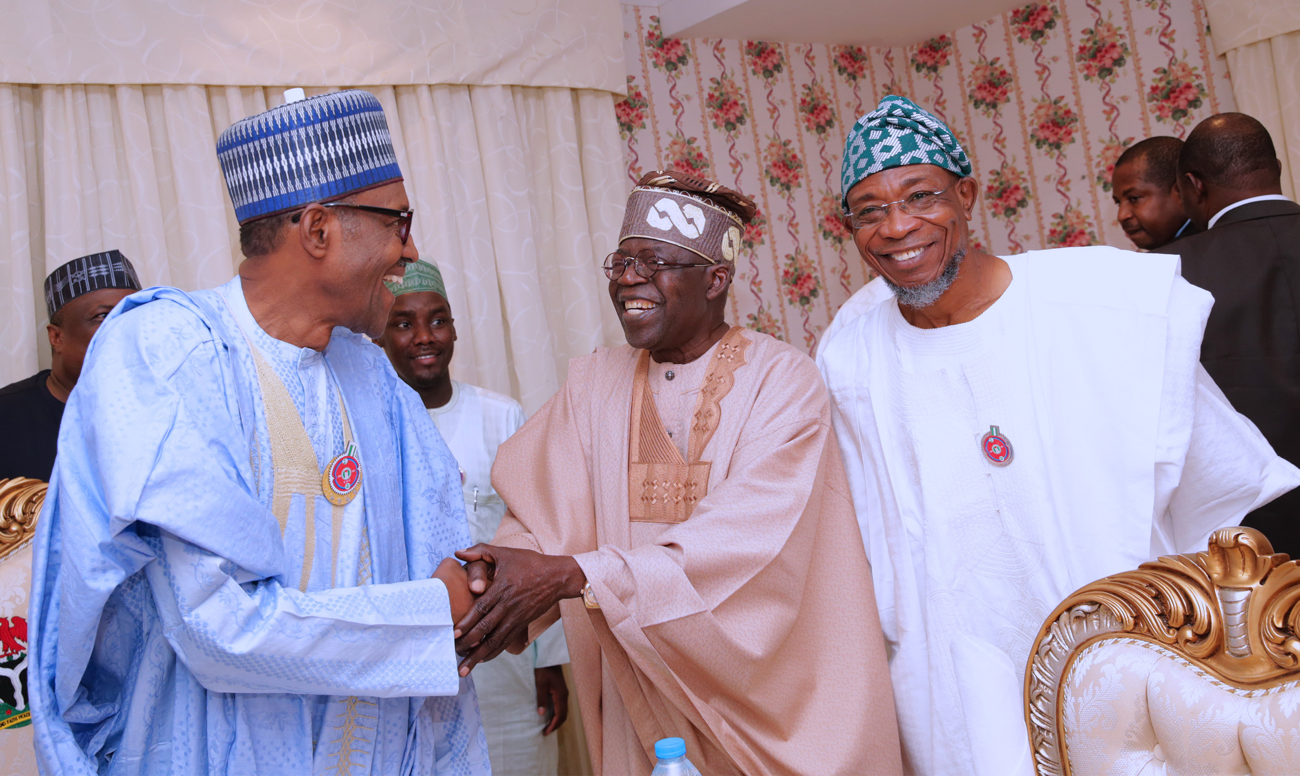 Buhari is right to appoint Tinubu to try mend political fences ahead of 2019 elections-Senate Leader