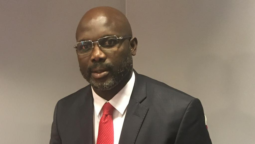 Former world footballer of the year George Weah is the new president of Africa's oldest republic