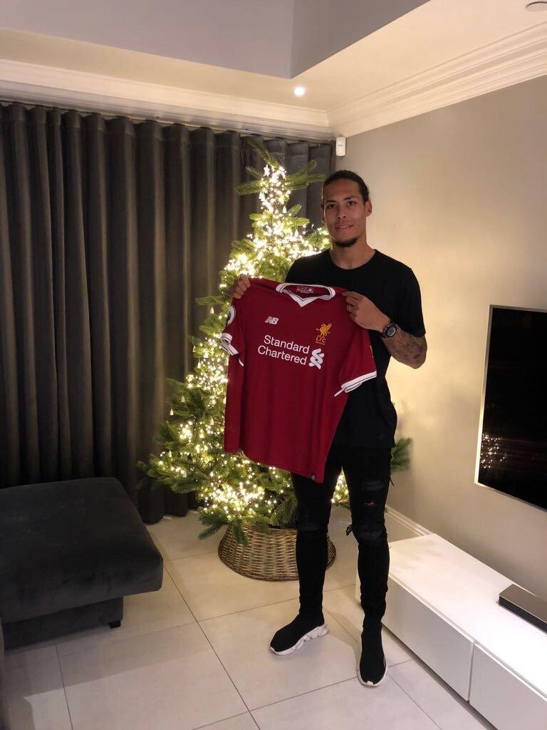 Liverpool FC confirm Virgil van Dijk deal from Southampton