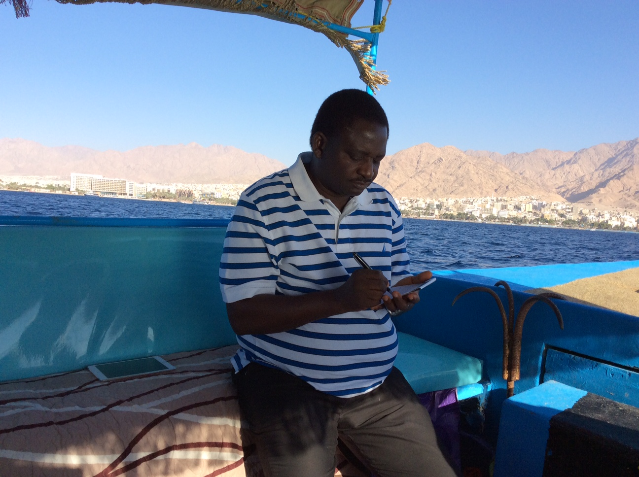 A frolic on the Red Sea  By Femi Adesina