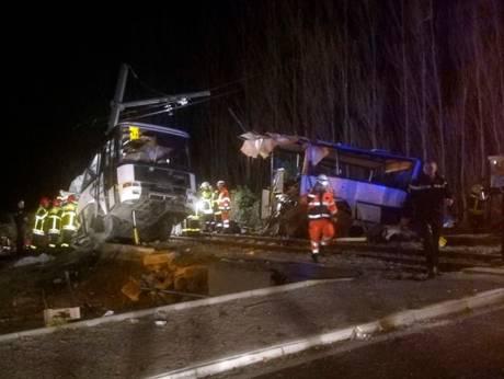 Horror as train cuts school bus in two, killing four children in France