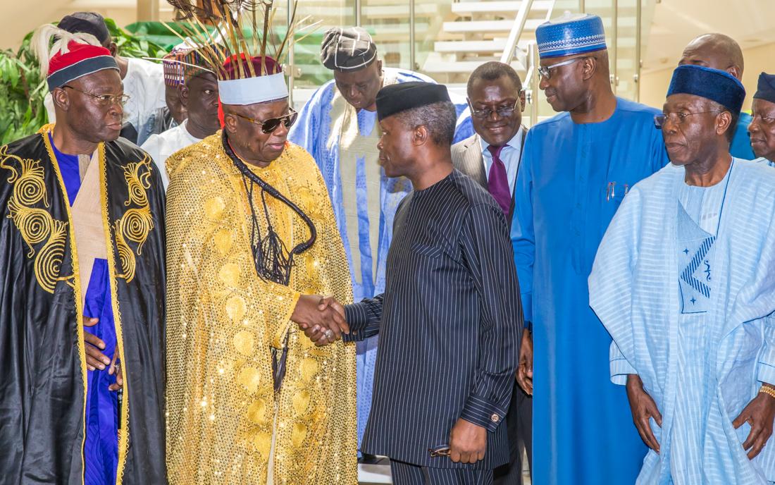 VP Osinbajo vows to end fulani, farmers carnage