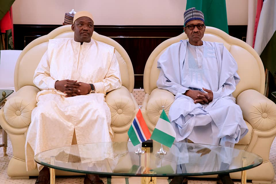 How Buhari forced Jammeh out of office- Barrow