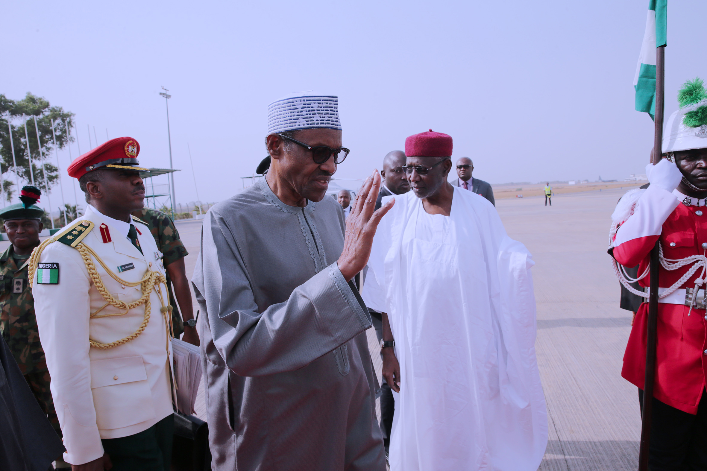 Breaking News: Buhari signs 8 bills into law, departs for AU summit in Addis Ababa
