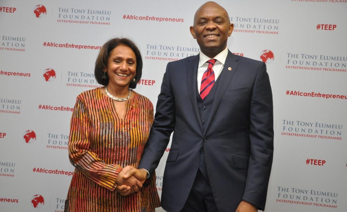 Elumelu named 2017 'Philanthropist of the year'
