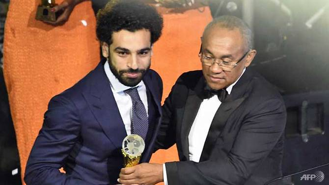 Liverpool's Salah wins African Player of the Year award