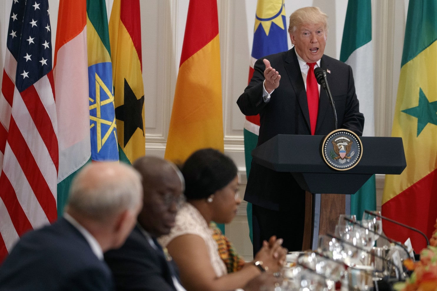 Human rights, terrorism, trade top on Buhari-Trump meeting in Washington