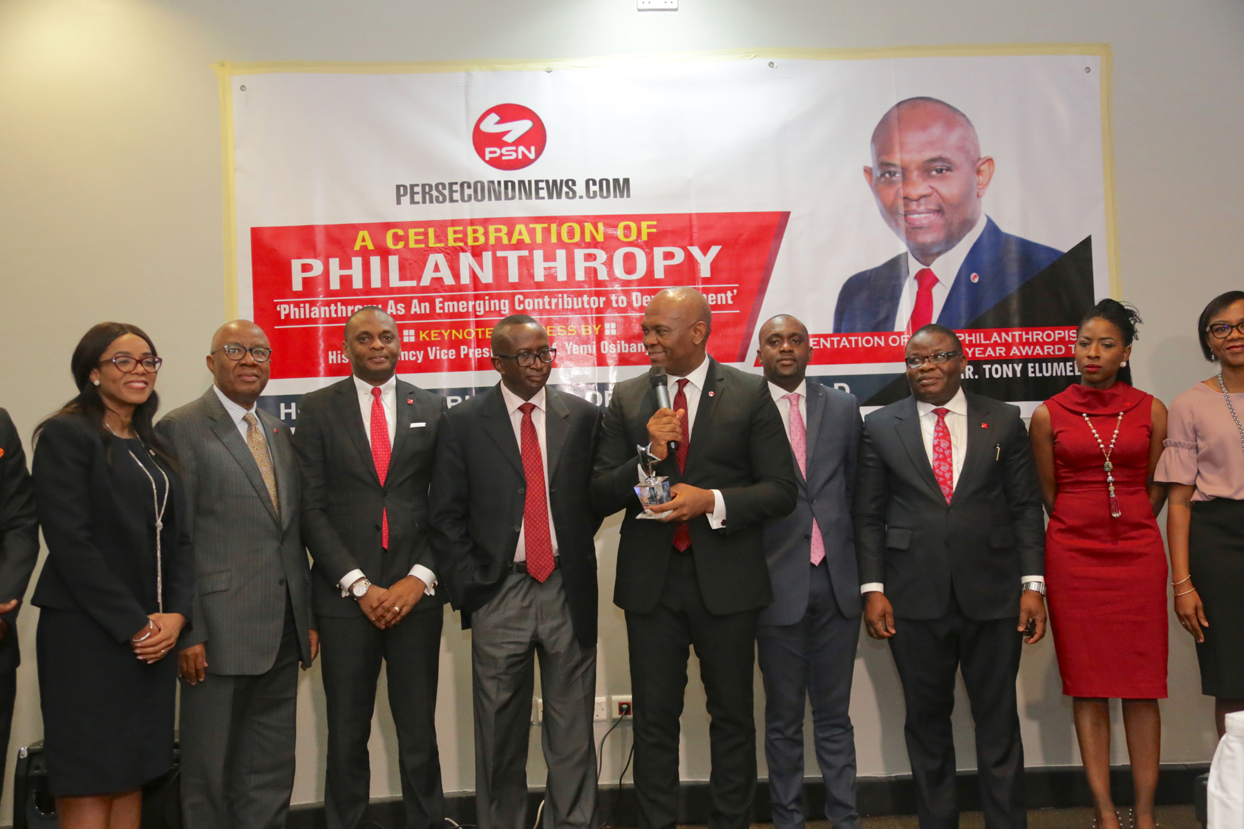 Ndoma-Egba on Elumelu: He's a gift to Africa, an inspiration to the World