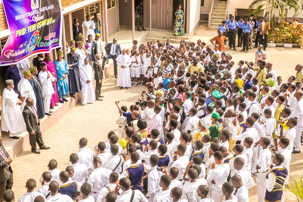 VP Osinbajo at Alma Mater, Igbobi College, Lagos