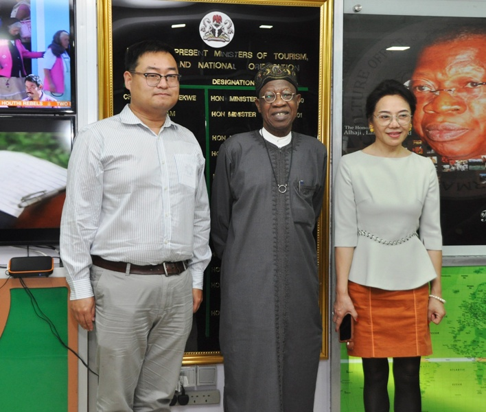 Minister Seeks Partnership With China To Develop Nigeria's Animation Industry