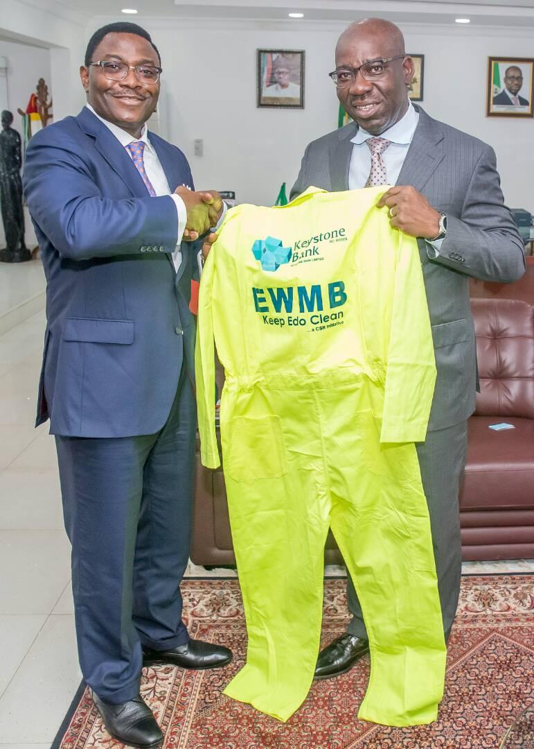 Keystone Bank Partners Edo State Government On Waste Management