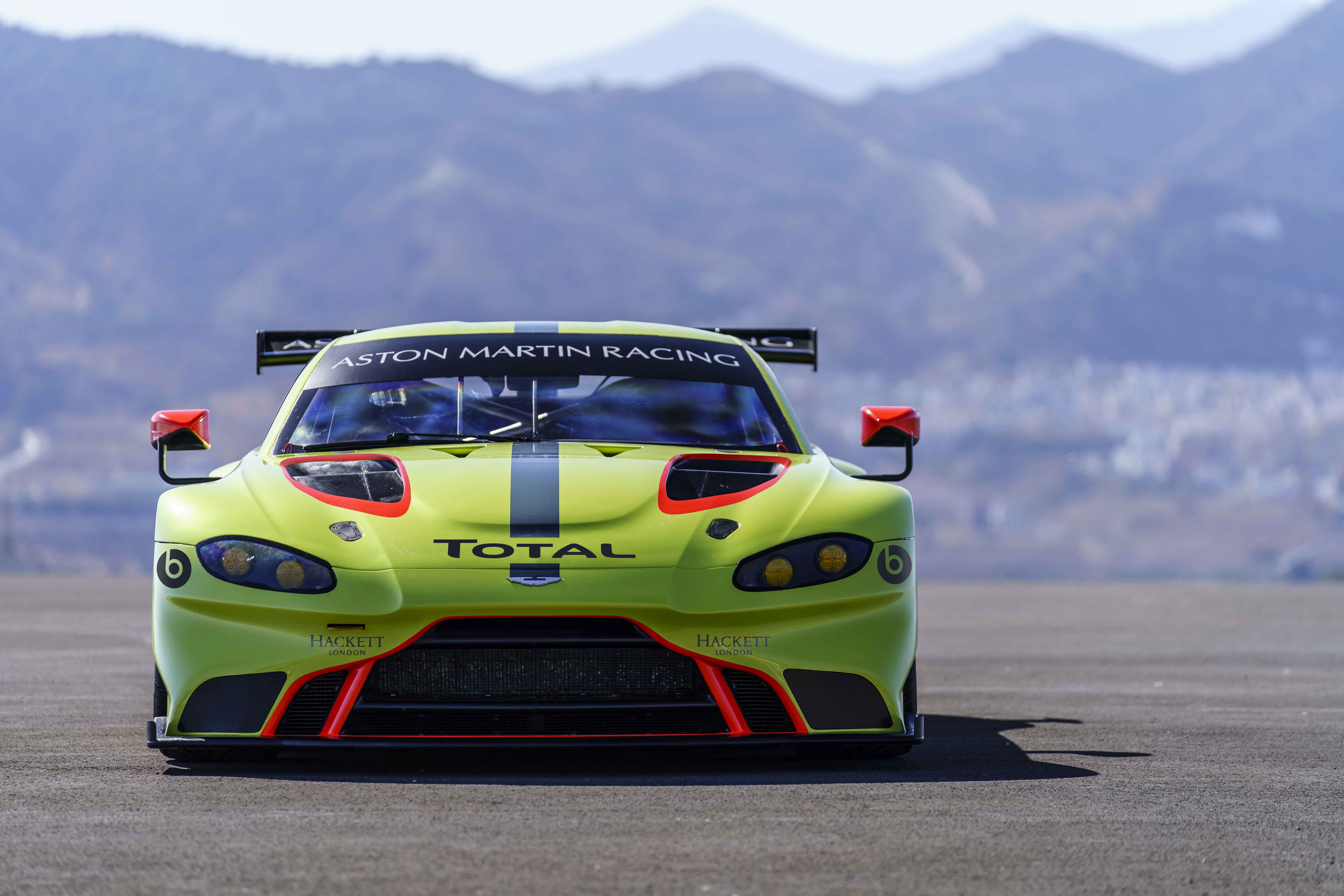 Total and Aston Martin Renew Their Global Partnership