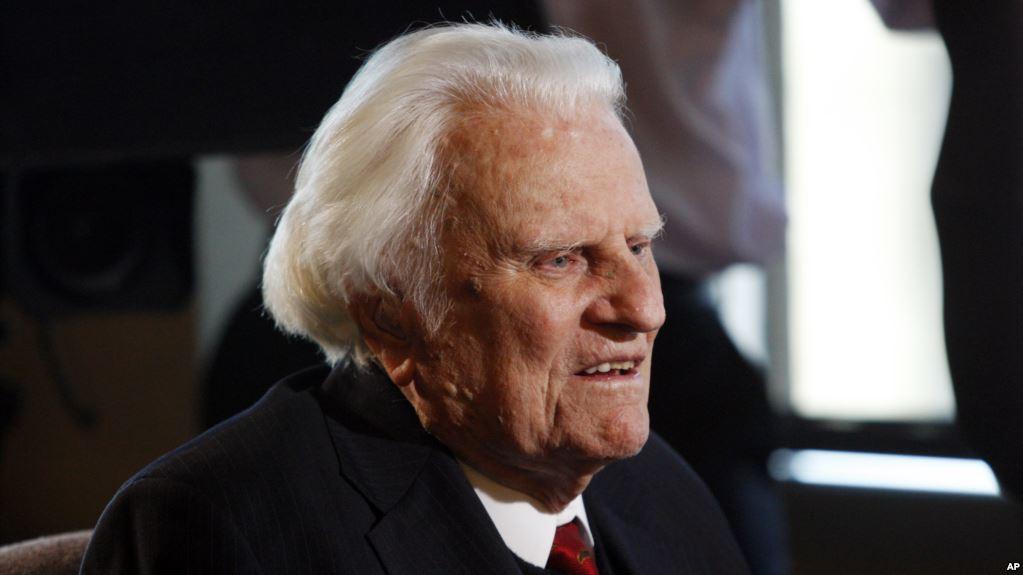 Billy Graham, renowned evangelist, dead at 99