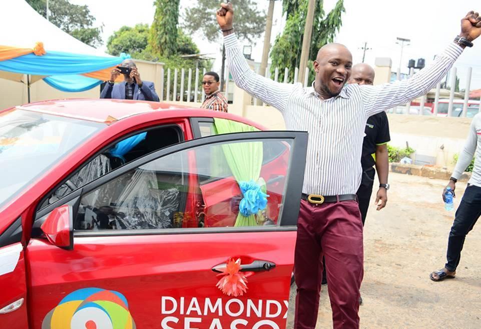 Businessman wins brand new car in DiamondXtra reward scheme