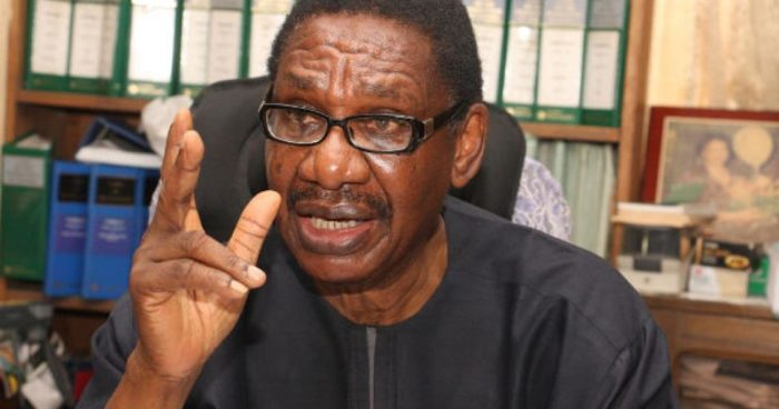 Paying lip service to graft fight ridicules exercise – Itse Sagay