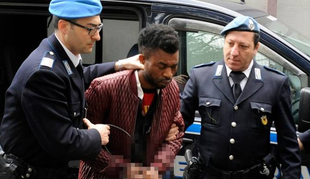 Italian gunman shoots 6 Africans after Nigerian man allegedly killed and cut into pieces 18- year- old girl