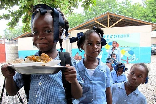 '246 million free meals served under Buhari's school feeding program across 20 states'