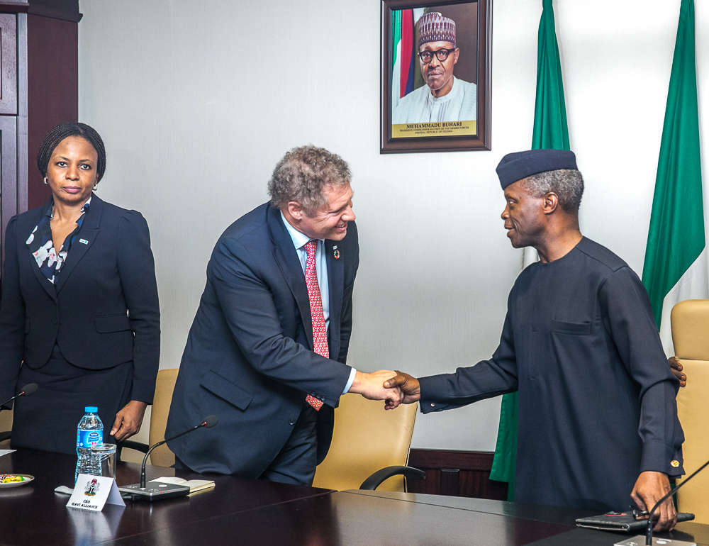 The Day in Pictures: GAVI delegation visits VP Osinbajo
