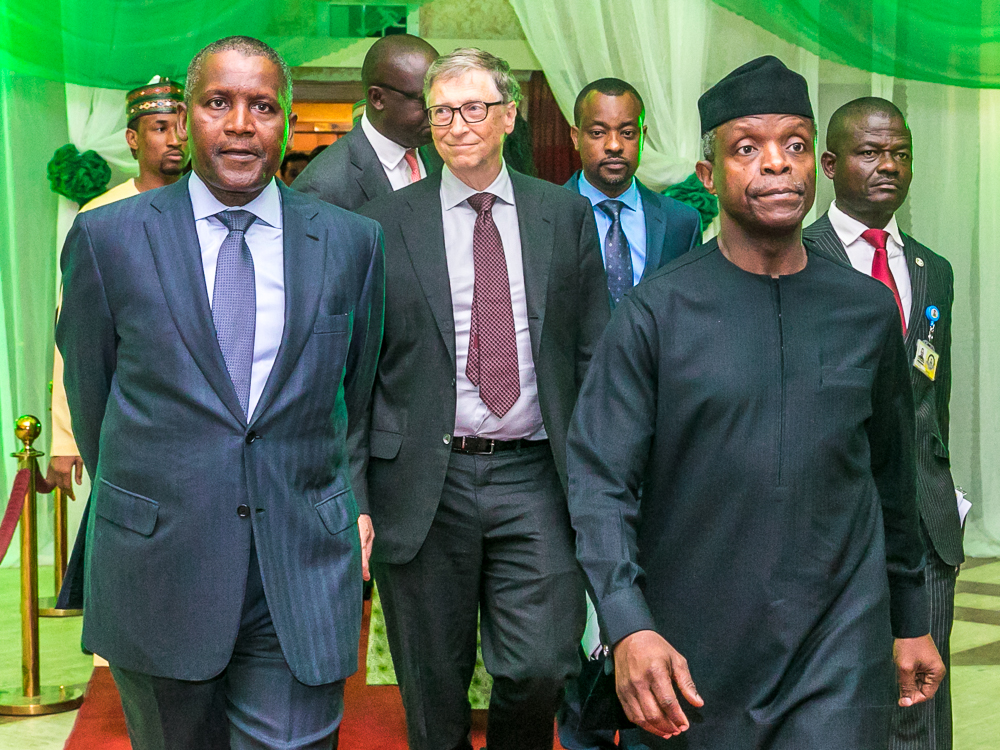 Bill Gates tears apart Buhari administration's economic recovery plans, says does not reflect people's needs