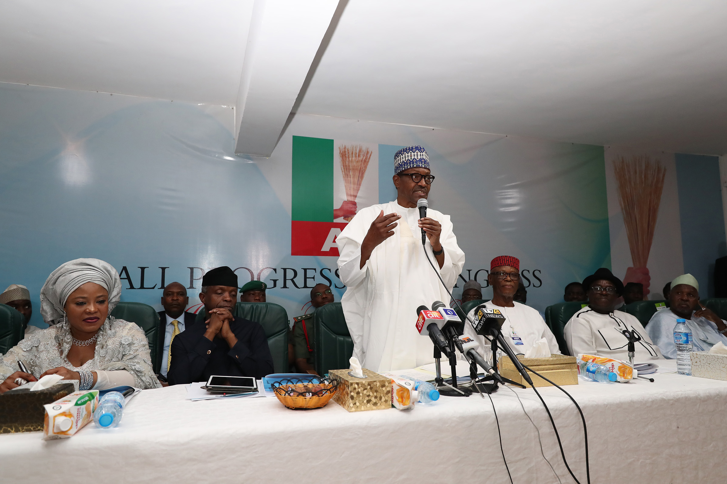 Buhari burst APC leaders bubble, says no to tenure elongation
