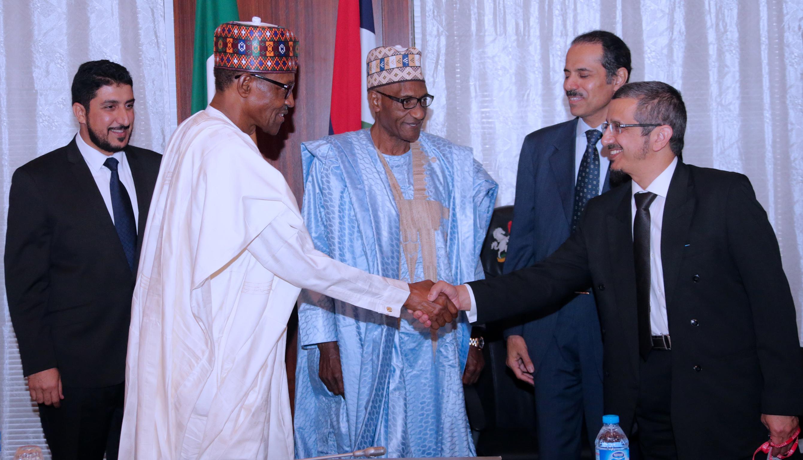 Buhari receives King Salman's delegation
