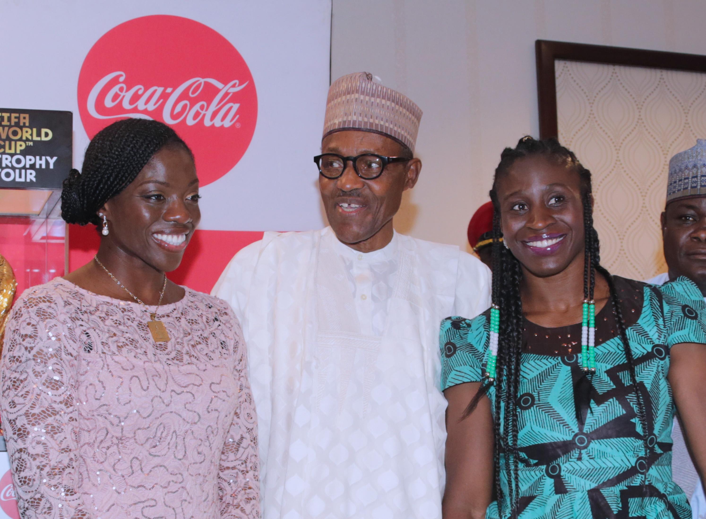 Nigeria's Bobsleigh team visits Aso Villa