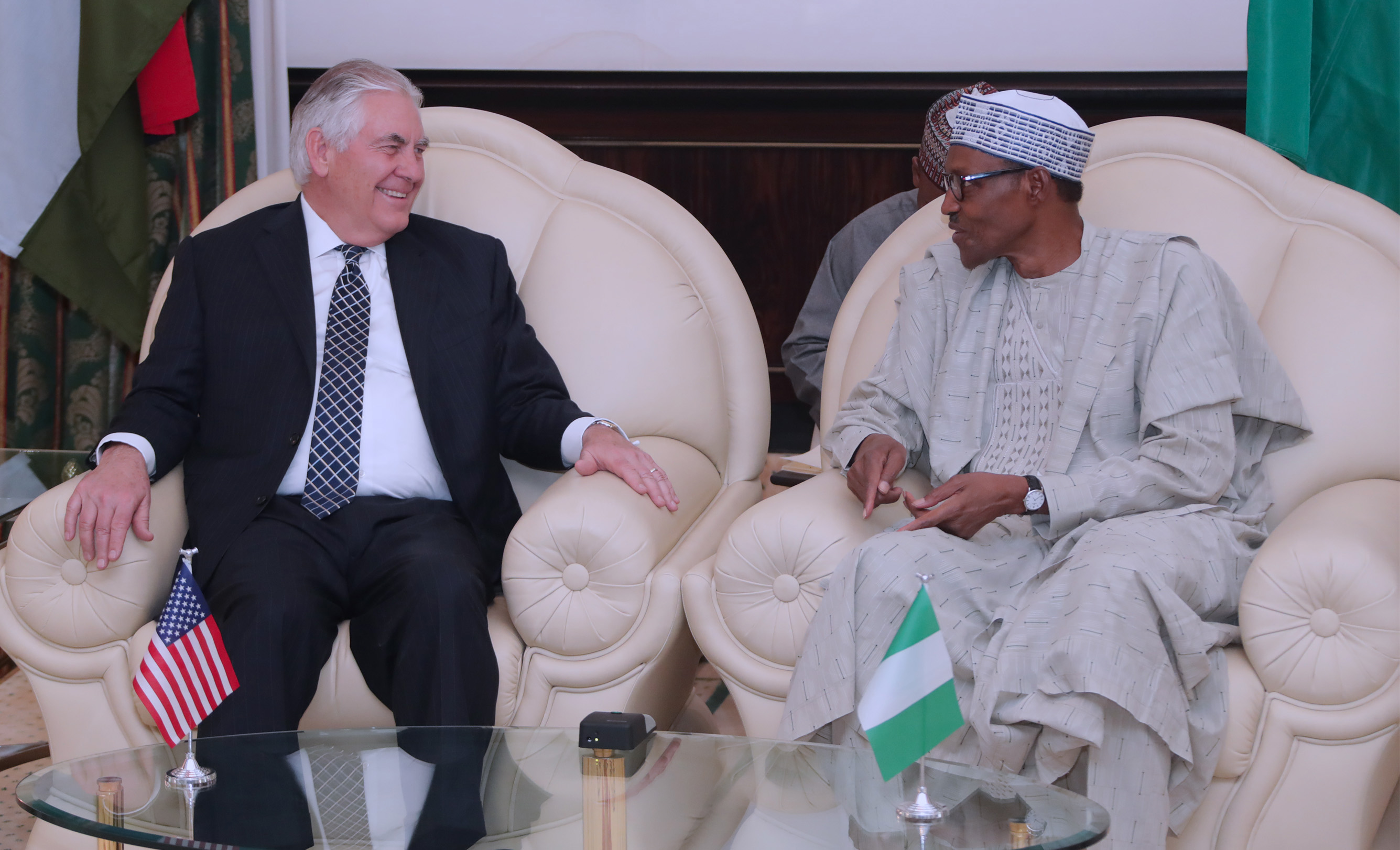In Pictures: Tillerson visits Nigeria