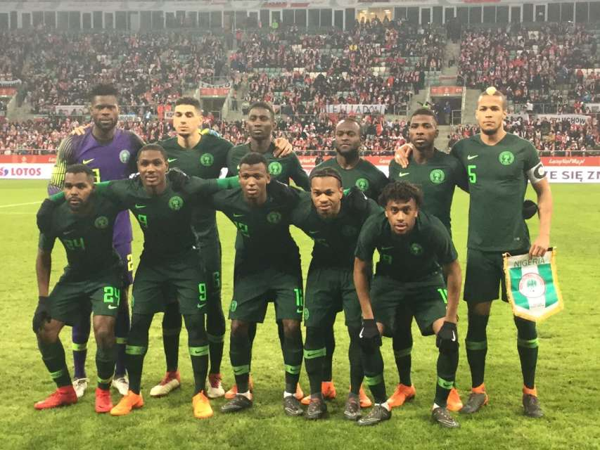 Nigeria well beaten by Serbia in friendly