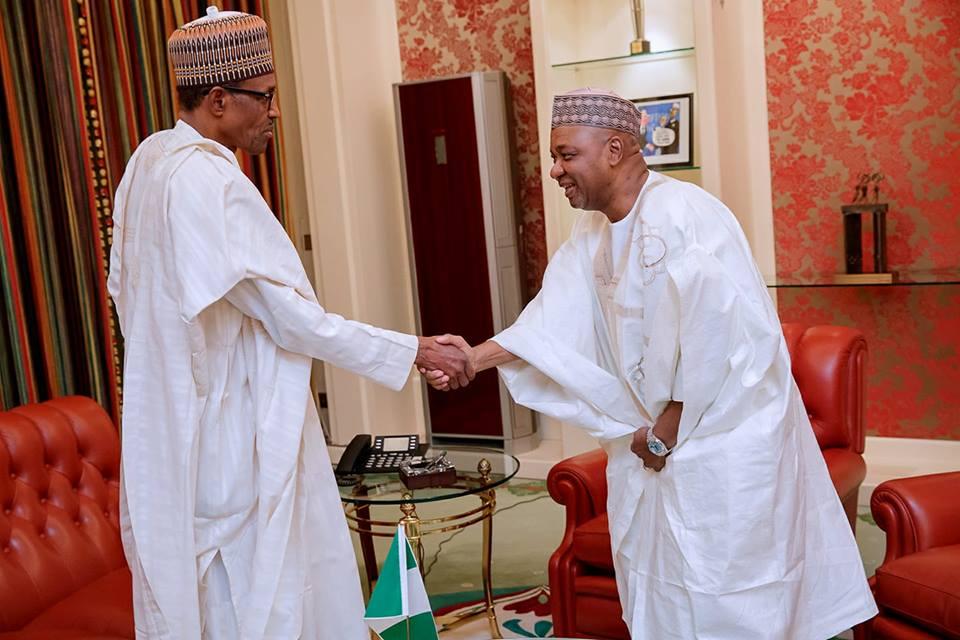 Former VP Sambo calls meeting with Buhari 'private'