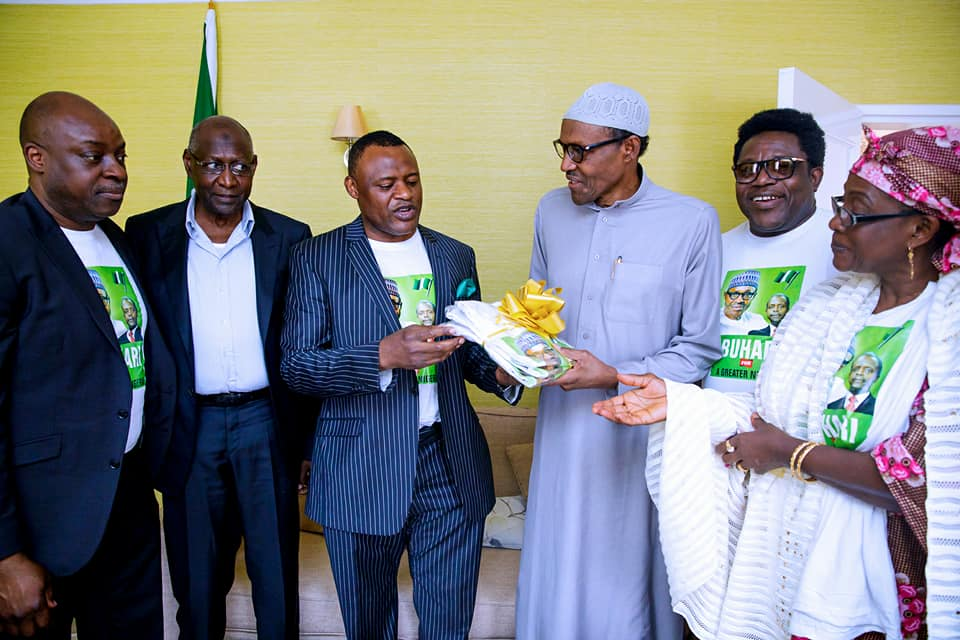 Nigeria plundered by wicked people, says Buhari