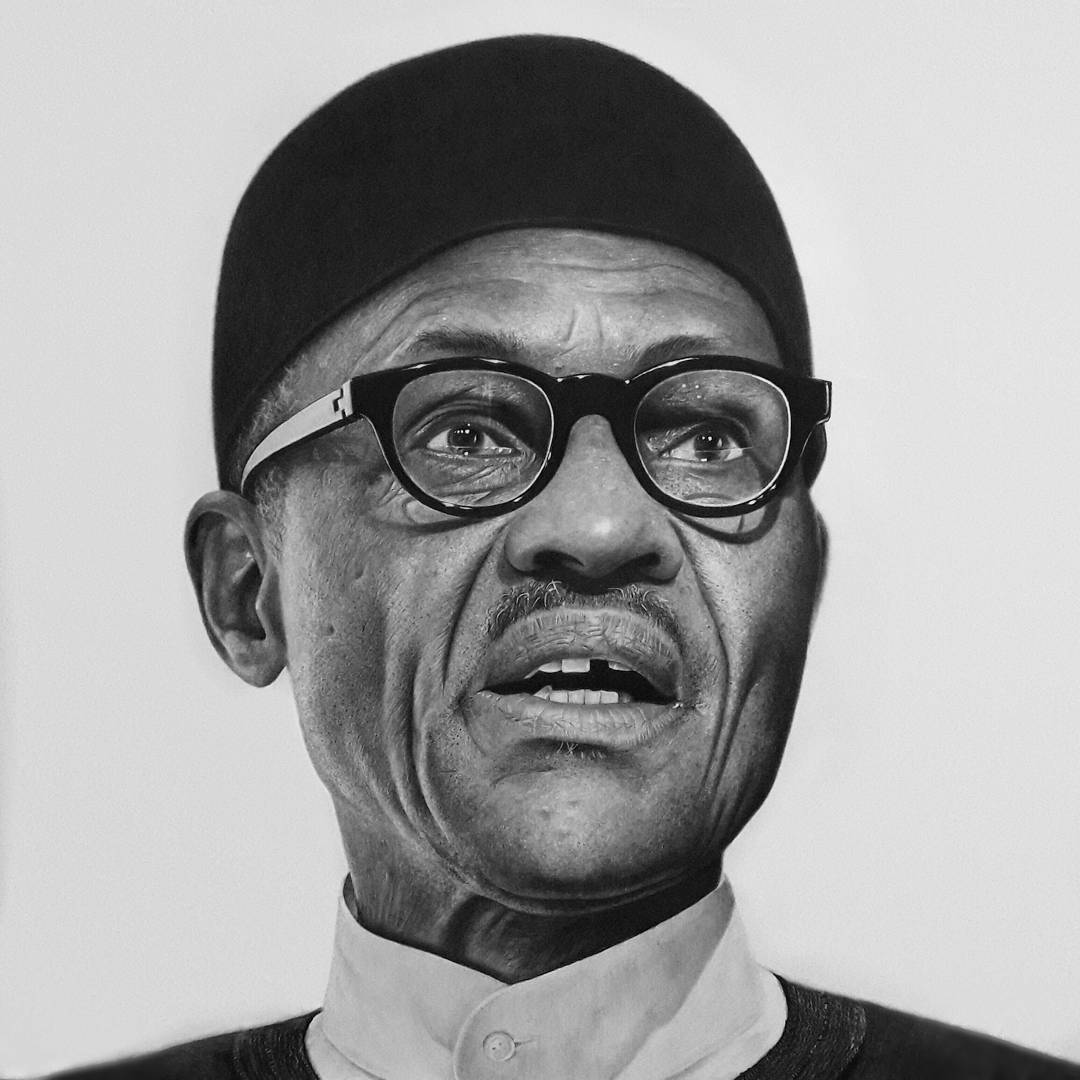 Artist to burn artwork of Buhari as anger grows over 'lazy' Nigerian youths comment