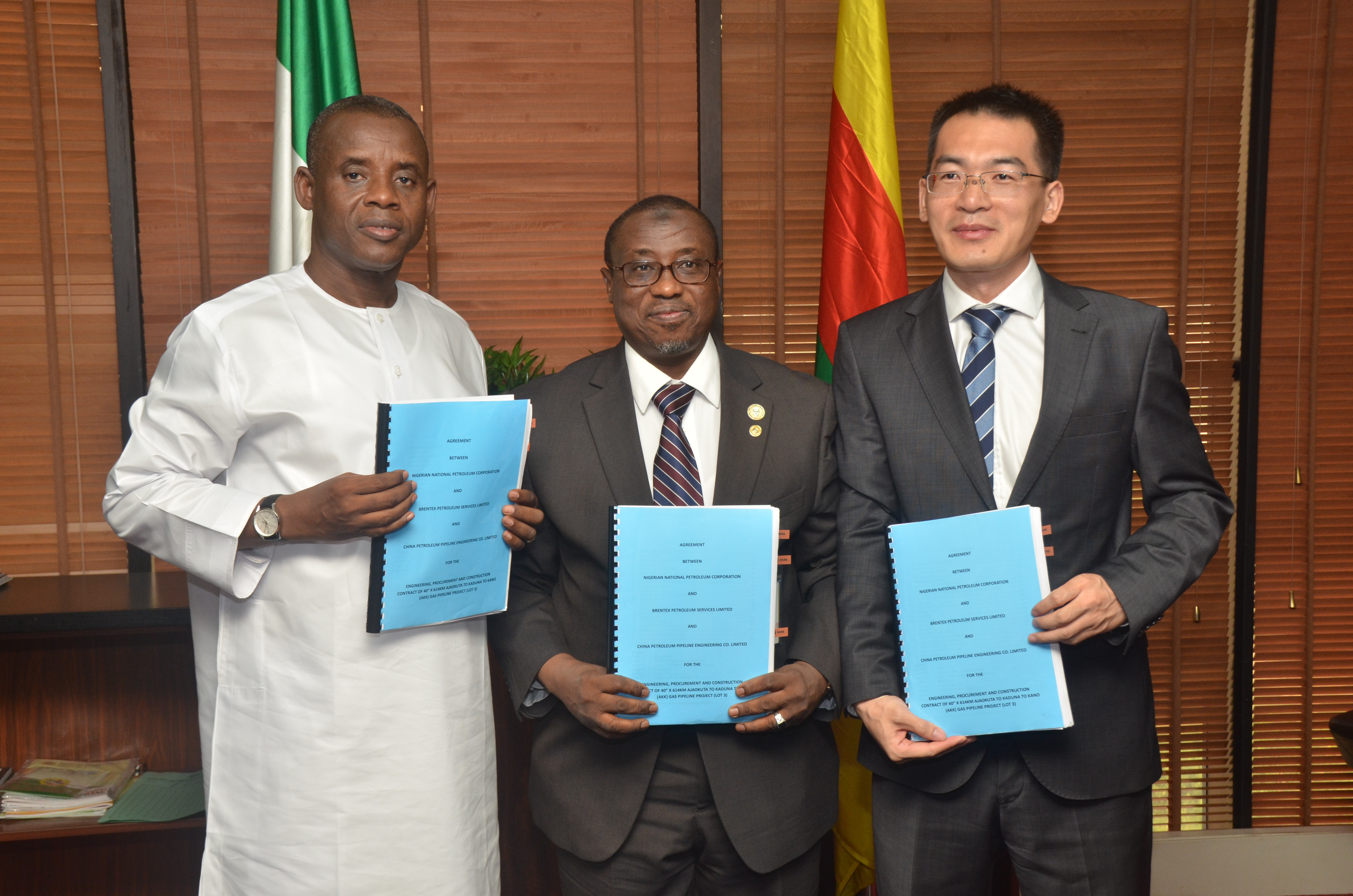 NNPC, Chinese Consortium Signs Contract Agreements for 614km AKK Project