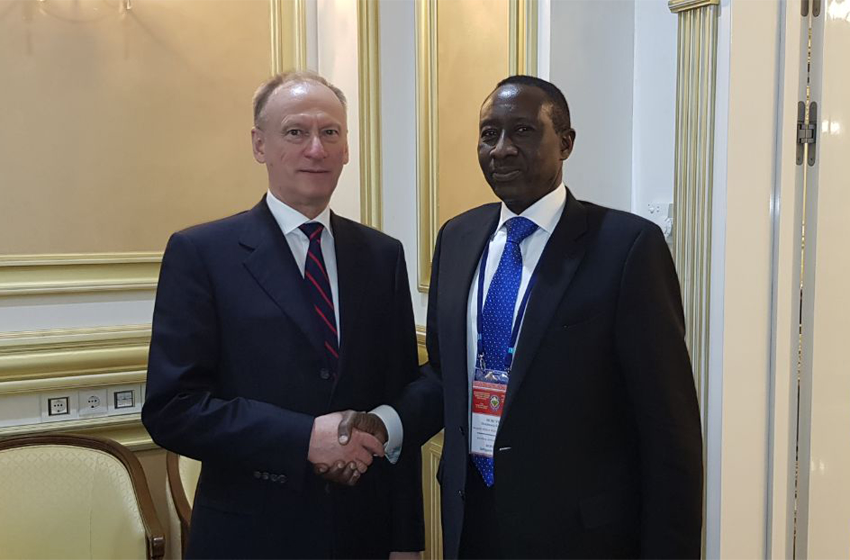 (NSA) Major General Babagana Moguno at the IX international meeting Sochi,  Russia