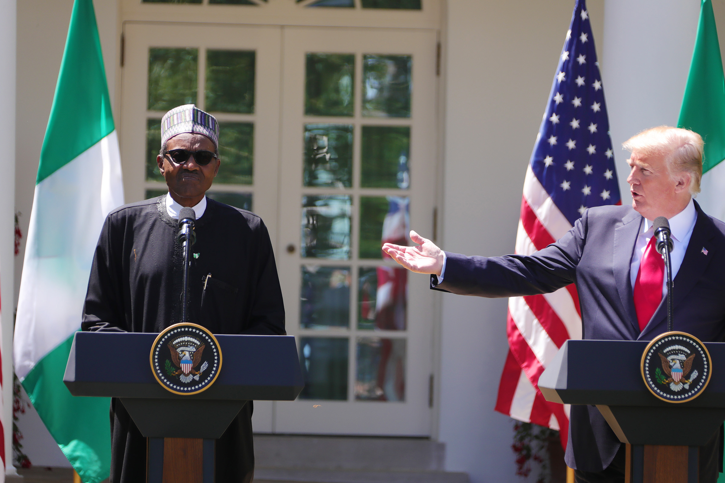 Trump To Buhari: We won't allow the killing of christians in Nigeria