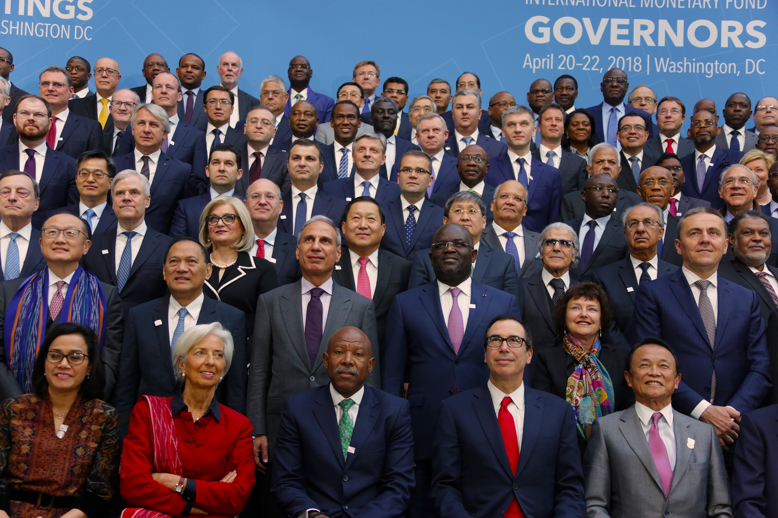 The Day in Pictures: Adeosun, Emefiele at the IMF/World Bank Spring Meeting