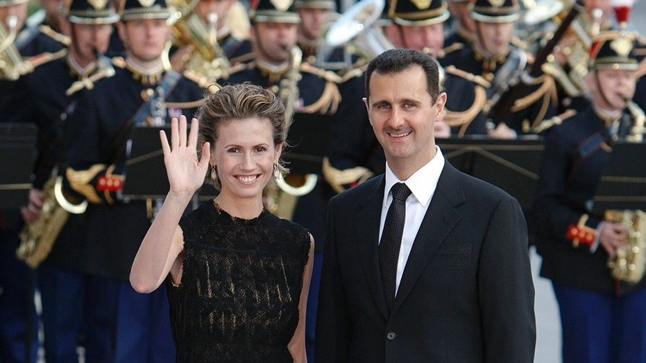 Syrian dictator Assad, wife living life of luxury while country in tatters