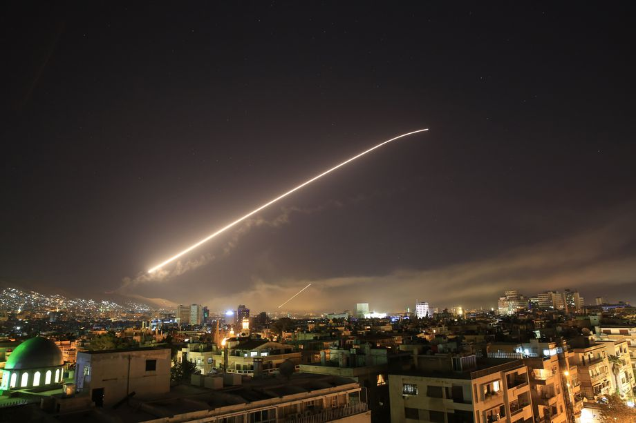 What we know about the coordinated US, UK and France Syria strikes