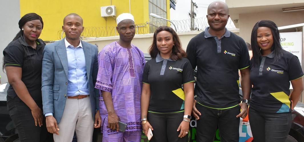 Diamond bank rewards 1,016 customers in quarterly draw