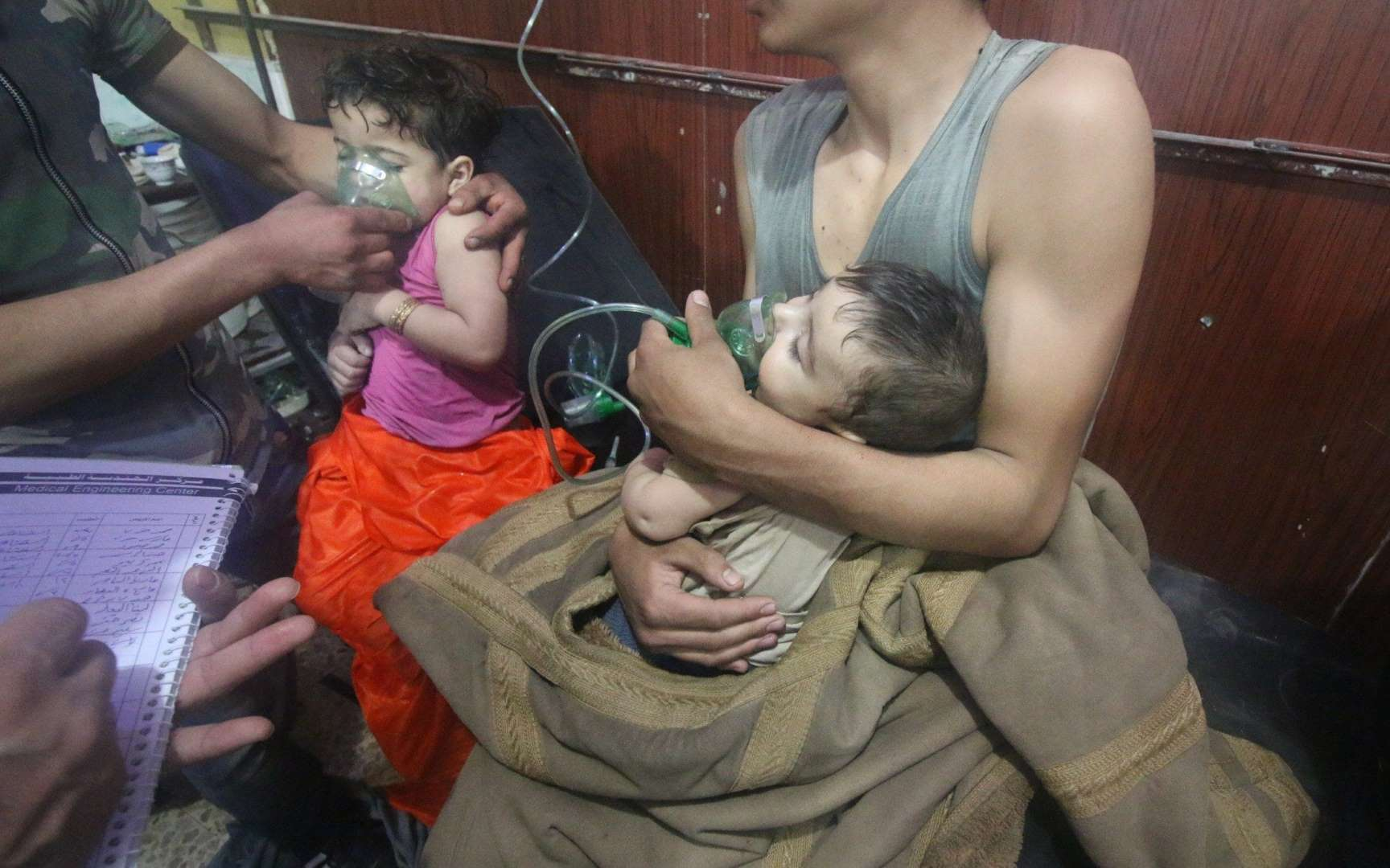 At least 55 gassed to death in Ghouta chemical attack