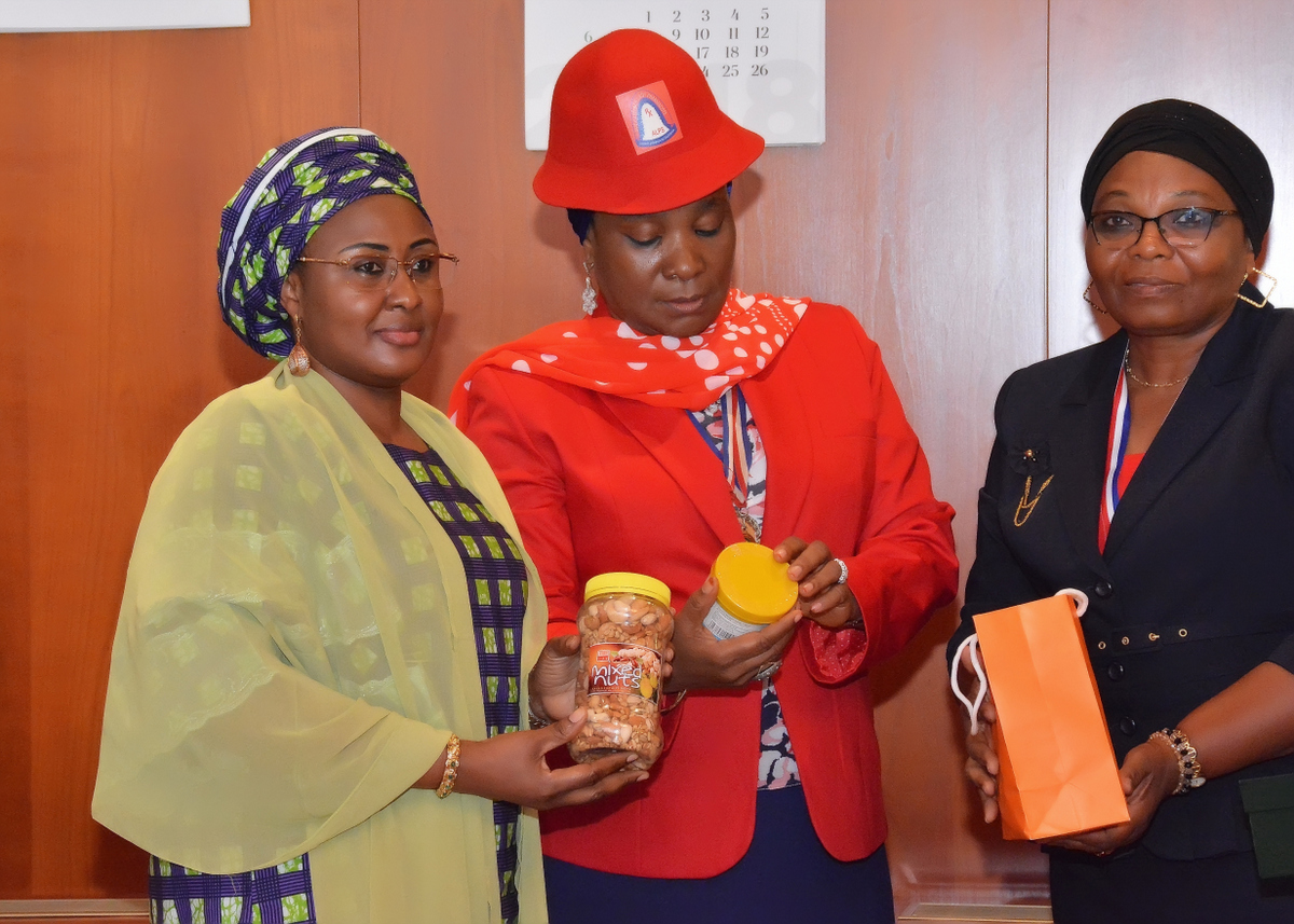 Aisha Buhari to Pharmacists: Play your Part in Controlling Drug Abuse