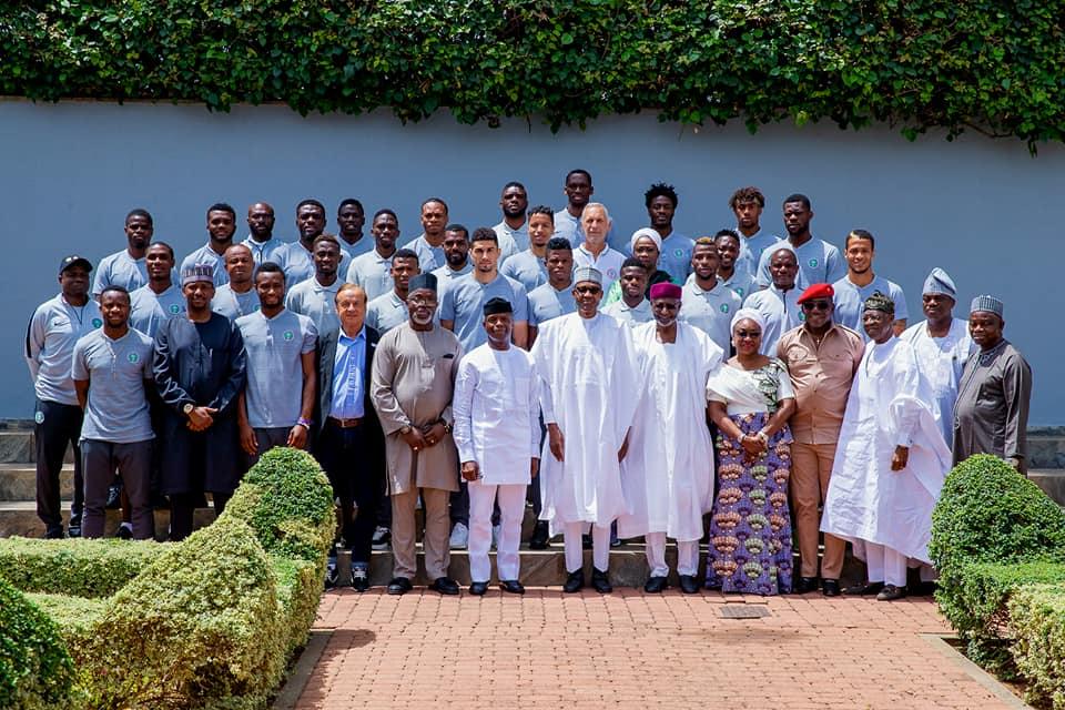 Play Clean, Fair Football:  Buhari backs Super Eagles to do Nigeria proud at World Cup