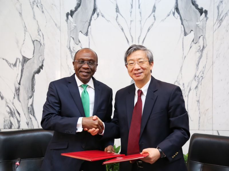 Currency Swap: Central Bank of Nigeria Signs Historic Agreement with the People's Bank of China (PBoC)