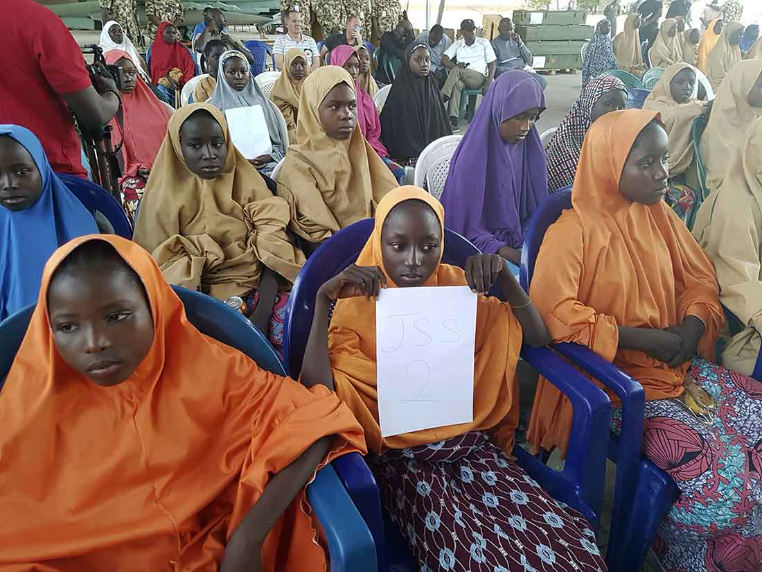 I'm proud of her faith, mother of kidnapped Christian schoolgirl Leah Sharibu,says