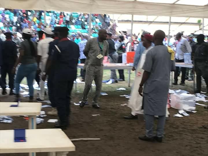 Ekiti APC chairman on the run as Police seal secretariat