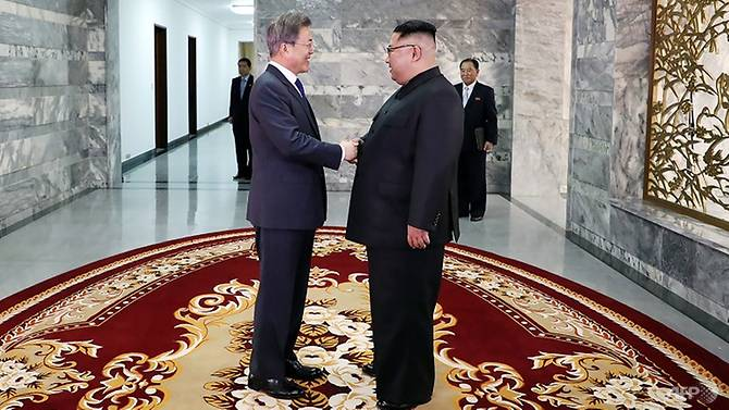 North and South Korean leaders meet to discuss Kim-Trump summit