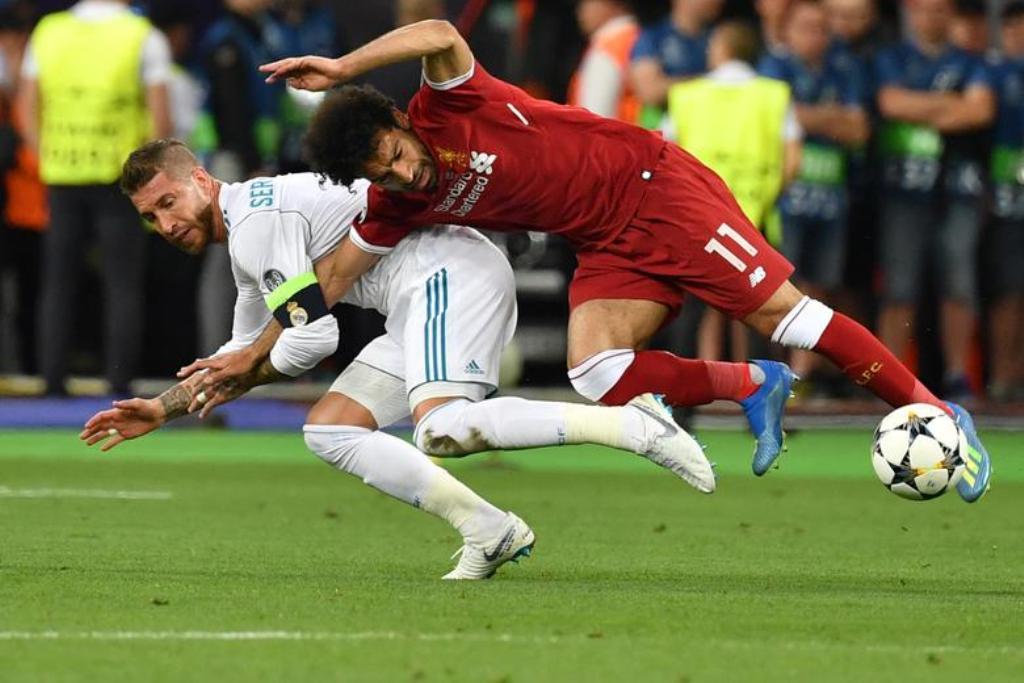 Egyptian lawyer files €1 billion lawsuit against Ramos over Salah challenge