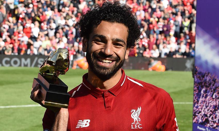 I'm happy to break the record, says EPL Golden Boot winner Mo Salah